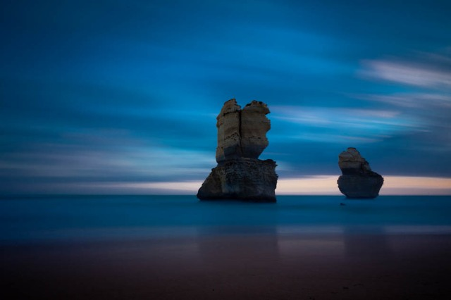 12 Apostle sea stacks - 4 min exposure