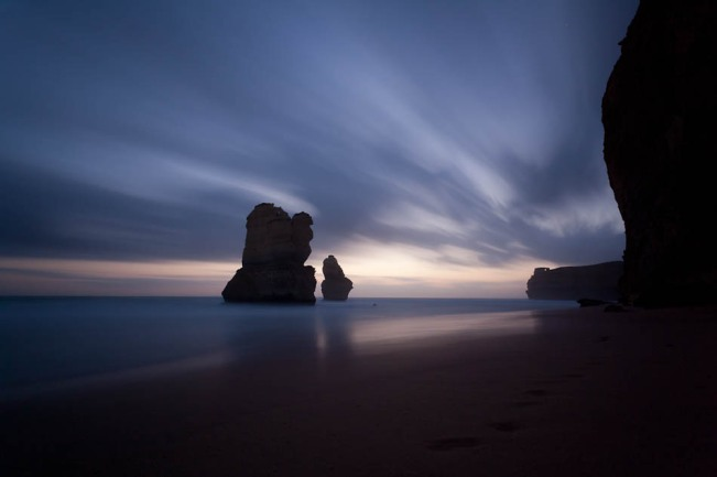 12Apostles sea stacks 4 min exposure