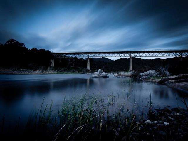 McKillops Bridge on the Snowy River