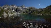 Lac de Mourelle in the midi-Pyrenees