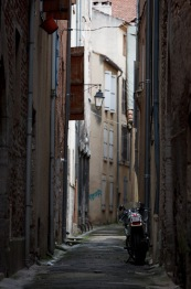 Typical back lane