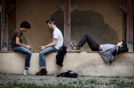 Boys killing time in Cahors