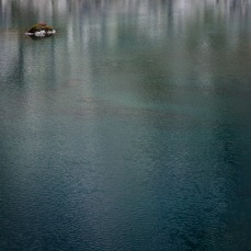 An alpine lake in the French Pyrenees