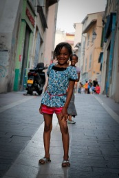 Street kids in the old quarter of Marseilles