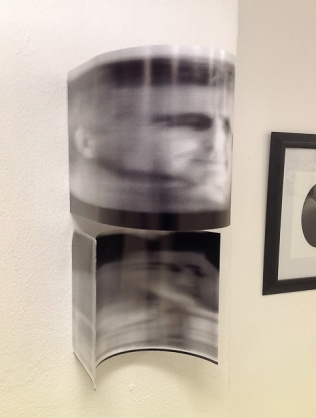 Father and Son - entry in the 2012 Newcastle University Student Art Prize (Highly Commended)