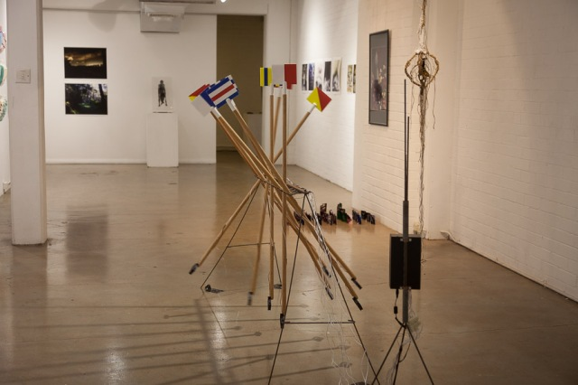 2014 Student Art Prize installation