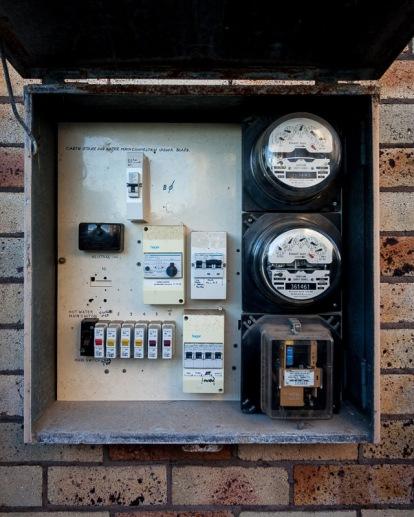 Meter box.